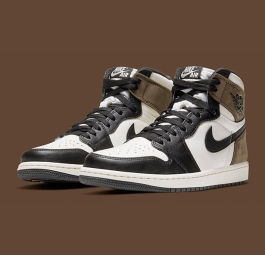 Air Jordan 1 Retro High OG Black Dark Mocha