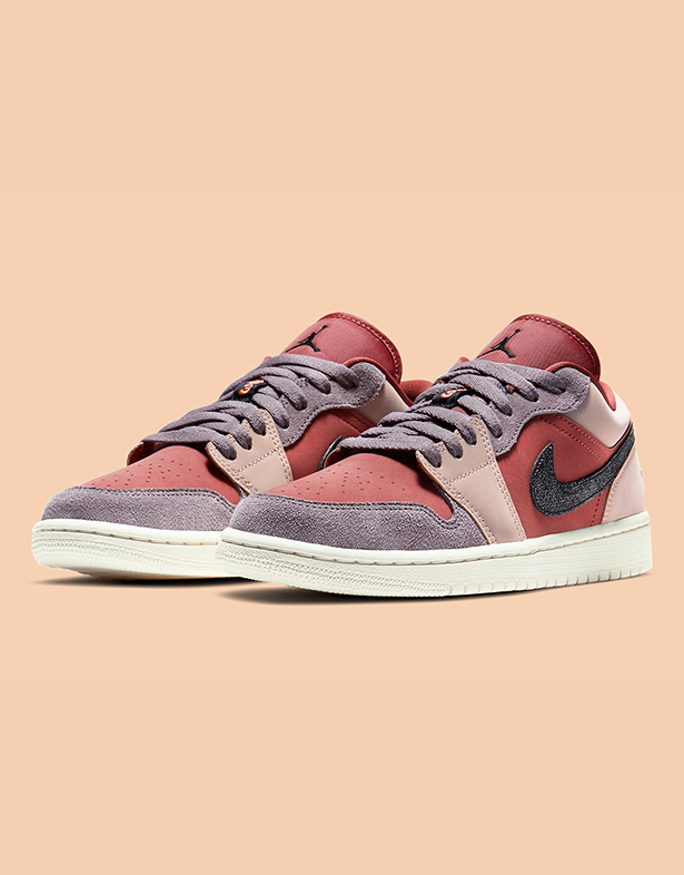 Nike Wmns Air Jordan 1 Low Canyon Rust Black