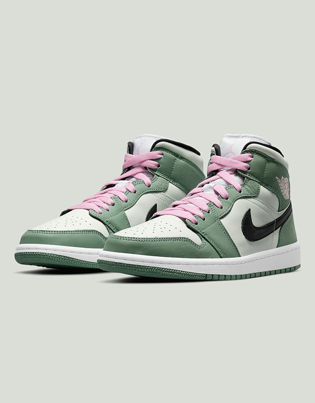 Wmns Air Jordan 1 Mid SE Dutch Green